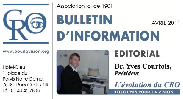 Bulletin 2011 CRO